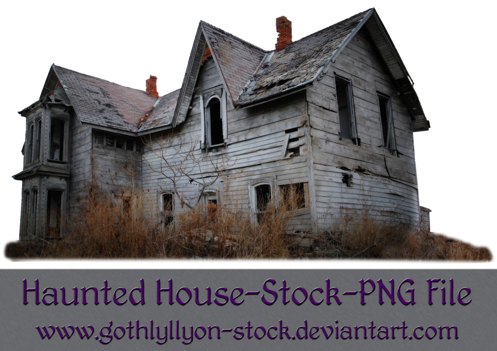 Haunted House-Stock-by-GothLyllyOn-Stock by GothLyllyOn-Sotck