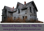 Haunted House-Stock-by-GothLyllyOn-Stock