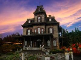 Gothic House-GothLyllyOn-Stock by GothLyllyOn-Sotck