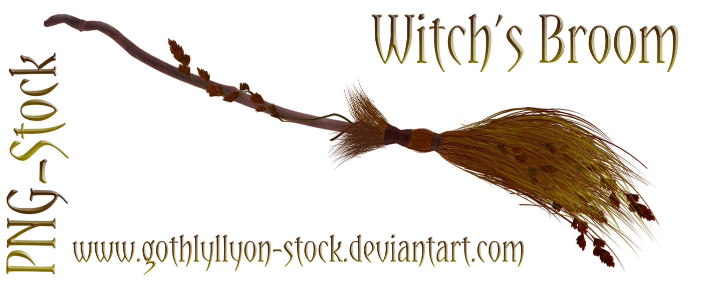 how to make a witches broomstick