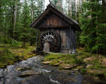 Water Mill-by-GothLyllyOn-Stock