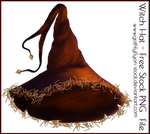 Witch-Hat-Stock-by-GothLyllyOn-Stock-MMXVII