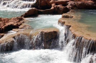 Havasu falls-Arizona by GothLyllyOn-Sotck