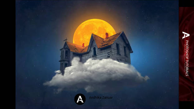 Photoshop Tutorial - Witch's House Fantasy