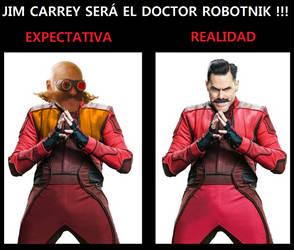 Jim Carrey Dr Robotnik MEME