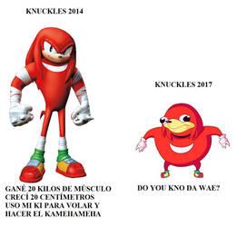 Meme Knuckles Boom Vs Uganda Knuckles