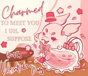 Happy Valentine's Day from Cujo
