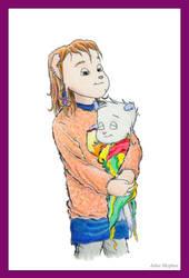 Kimbur and Emberly by Julee-Mcphee