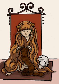 The wool princess