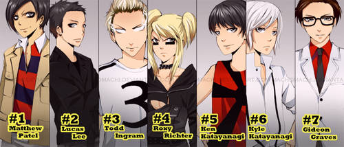 The 7 Evil Exes by MachoMachi