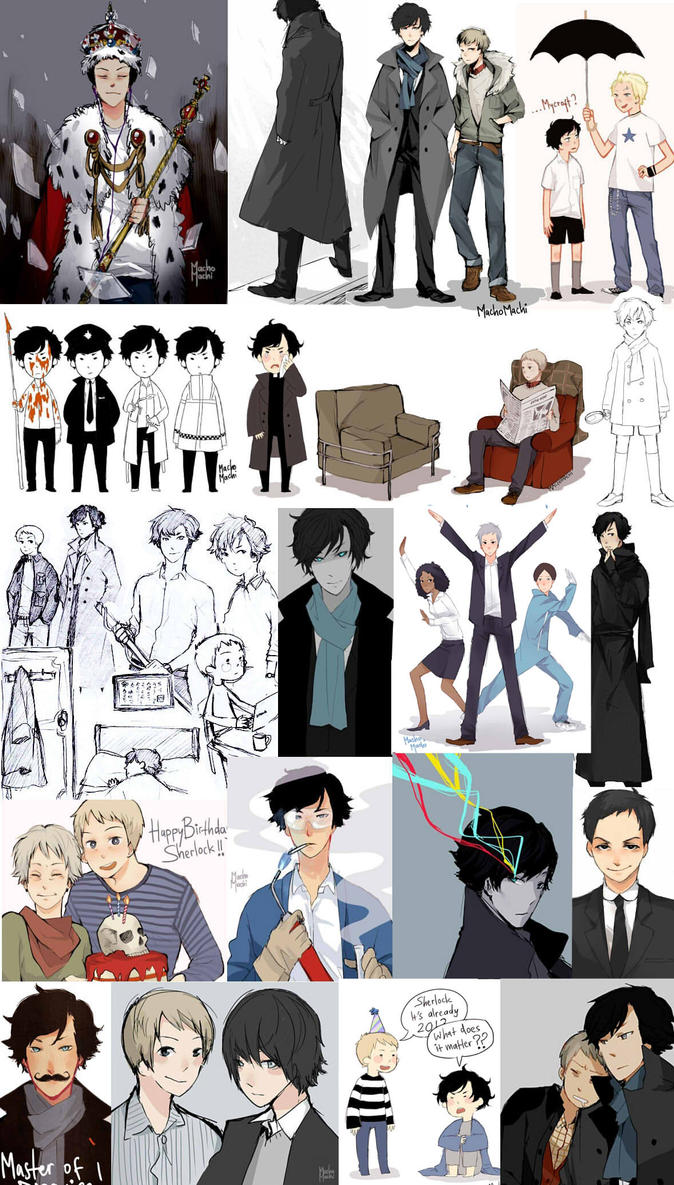 Sherlock Artdump 002 by MachoMachi