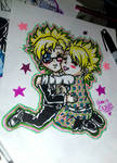 DMMD virus x trip chibi by queencastilla