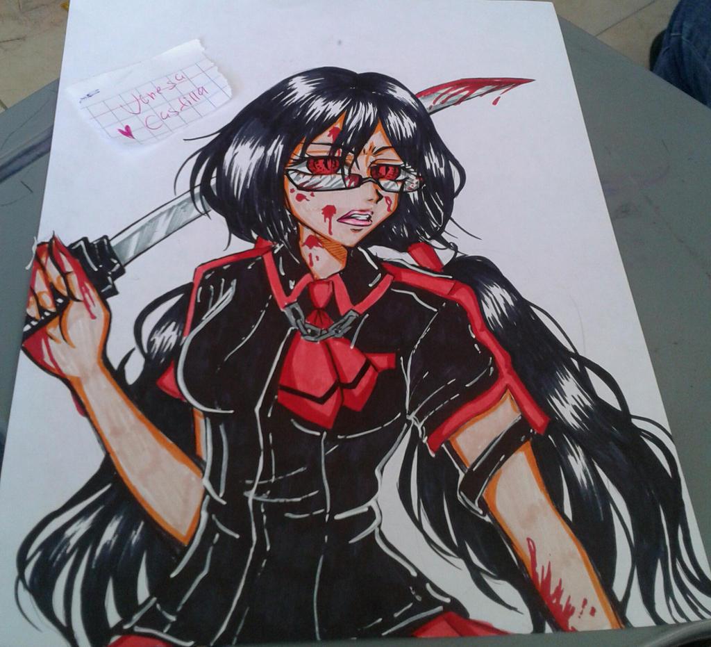 Kisaragi Saya On Blood-C-XxX