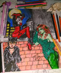 Gotham city sirens by queencastilla
