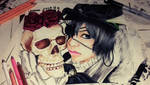 shakespeare and ciel be or not be by queencastilla