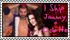 V-Day CM: Jimmy and Odette stamp by BubblyPunkKat
