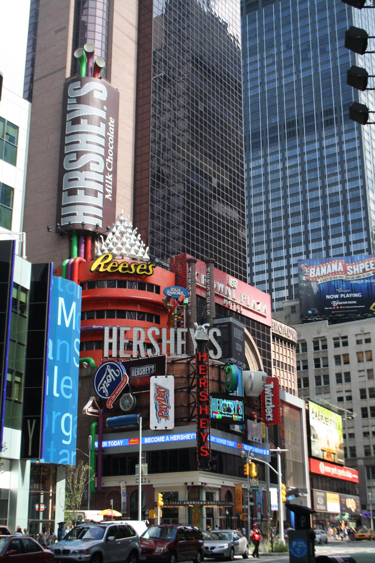Hershey 39 s store new york city by emaratina on deviantart for Craft stores in nyc