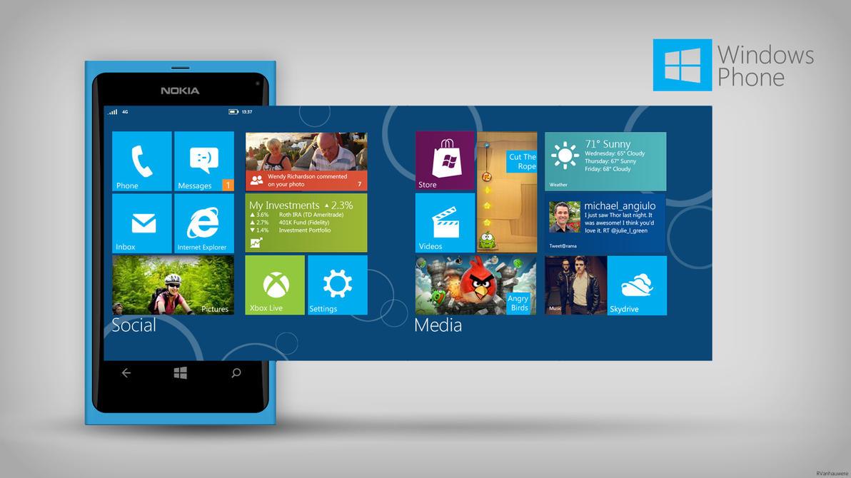 Windows Phone Reimagined by RVanhauwere