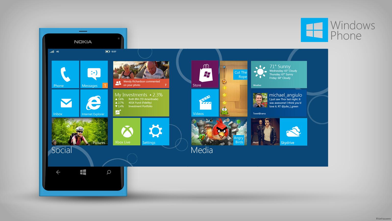 Windows Phone Reimagined