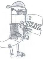 Swagosaurous Robot by SurrealBrain