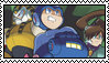 Archie Mega Man Stamp by SurrealBrain