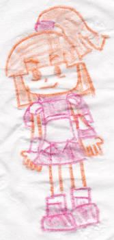 Doppelganger Arle Crayon Doodle