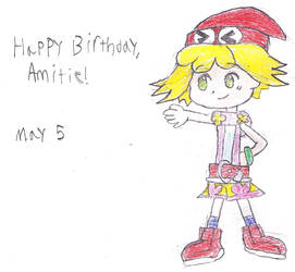 Happy Birthday, Amitie! by SurrealBrain