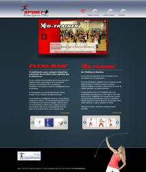 Layout web para Sportplus.mx by cloudyspuk