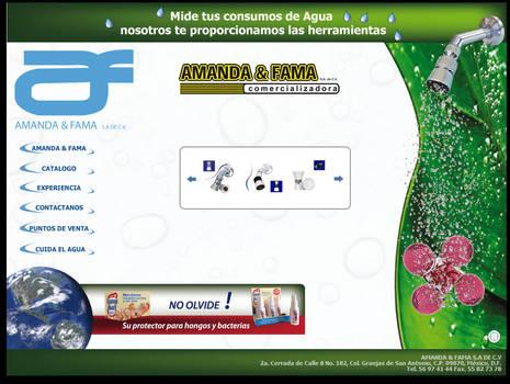 Implementacion web amandayfama