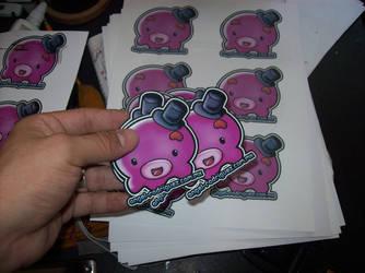Cejispulpo - stickers