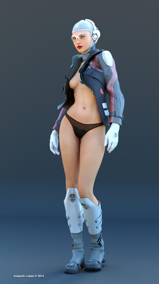 Space girl by wuruhi