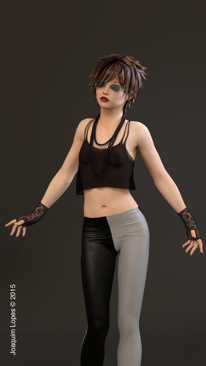 Girl in black by wuruhi