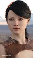 Alice - fantasy portrait by wuruhi