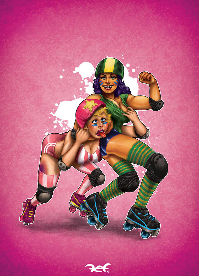 Roller-Derbysssssss by arielferreyra