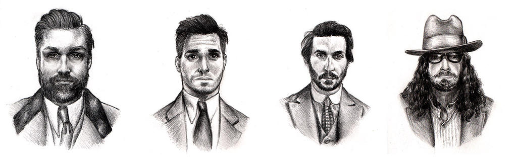 Portraits by arielferreyra