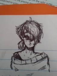 Imbue (Pen Sketch) by Wisteria101