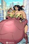 A Giantess in No Man's Land 4