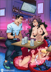 Table for... Three? by vore-fan-comics