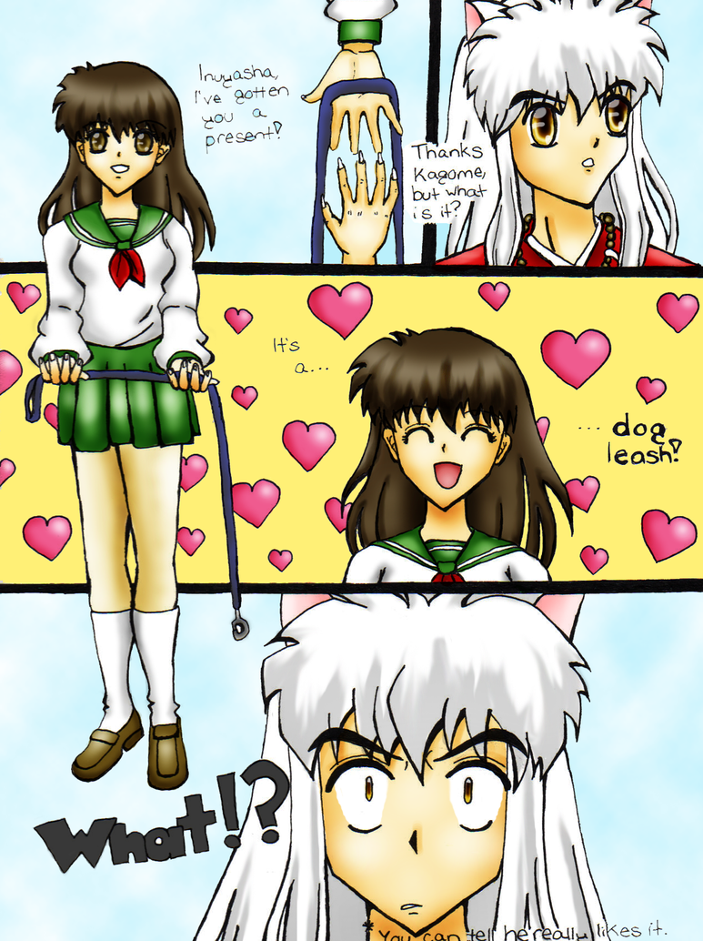 Kagome Likes To Tease Inuyasha By Sunbeam482