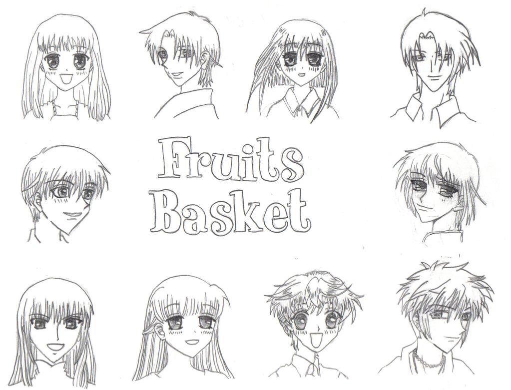 Fruits Basket by Sunbeam482