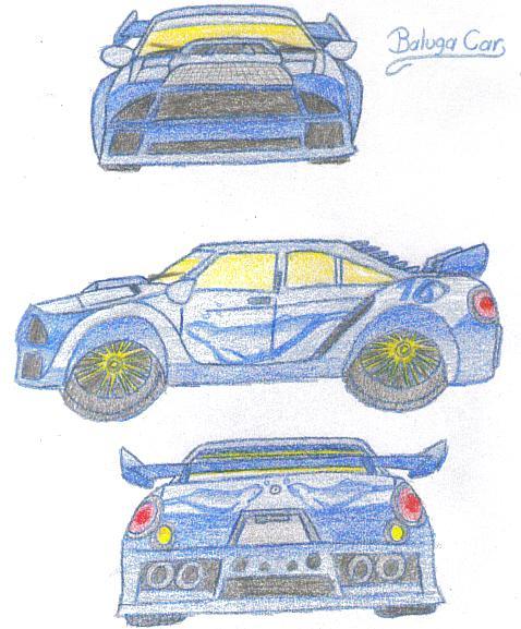Baluga Car For DannyCam by blackzero04