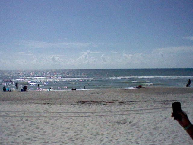 atlantic ocean in florida by blackzero04