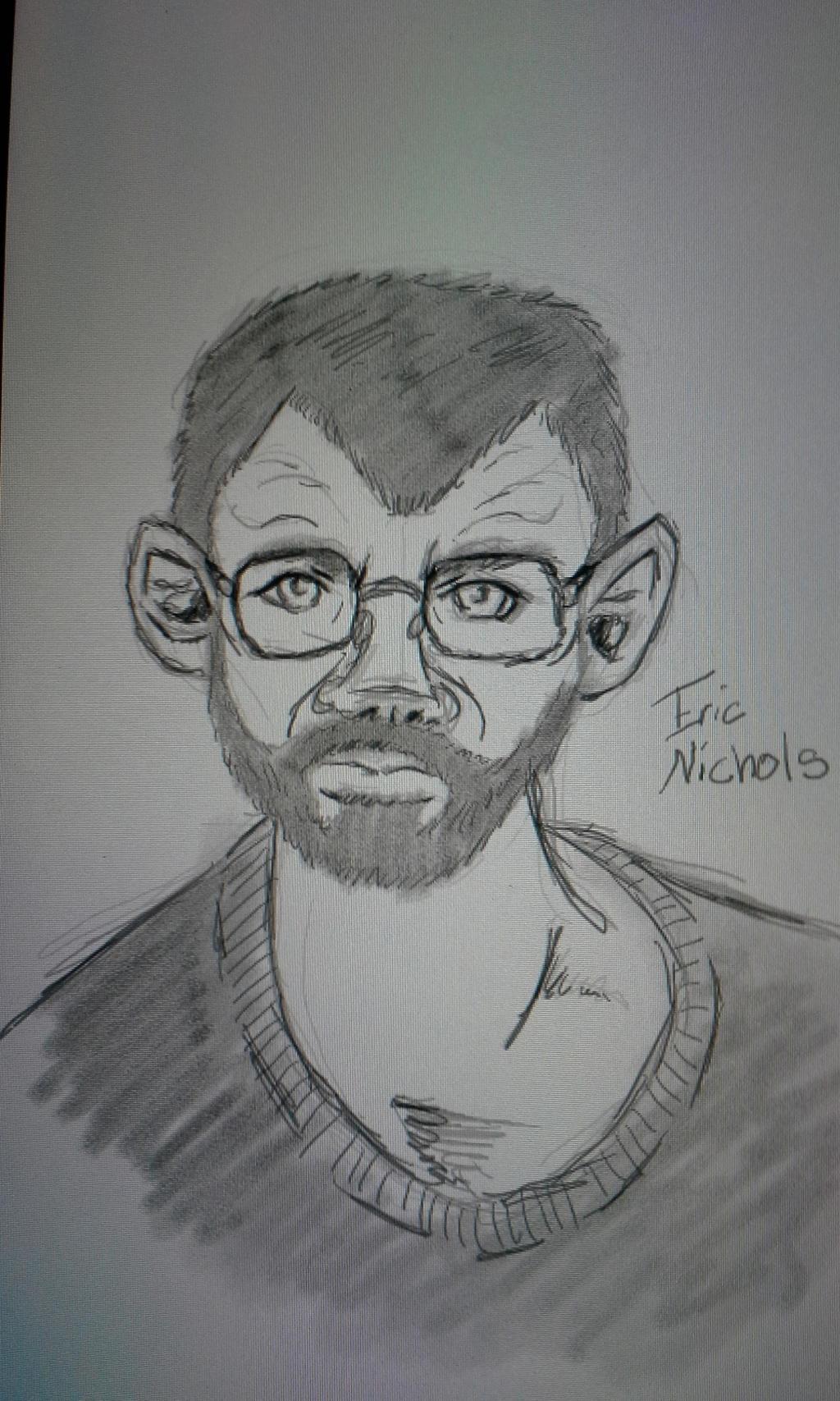 Eric Nichols Portrit by blackzero04