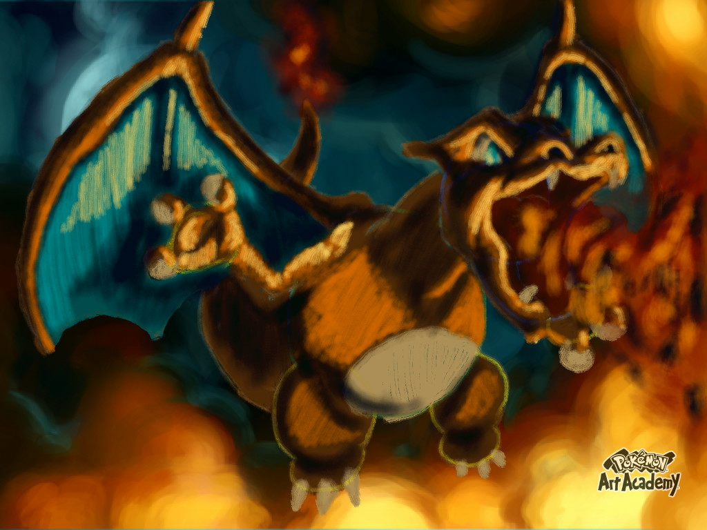 Lesson Charizard Pokemon Art Acadomy by blackzero04