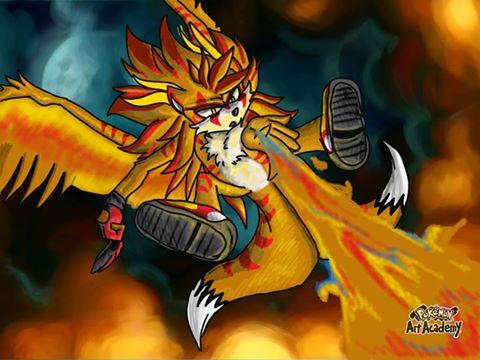Sunfire   Ember's Dance by blackzero04