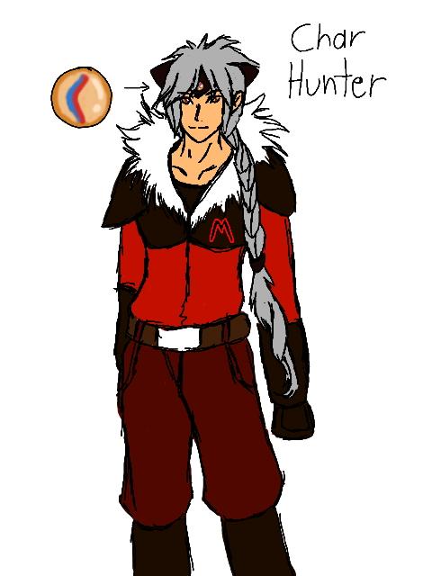 Char Hunter new team Magma uniform by blackzero04