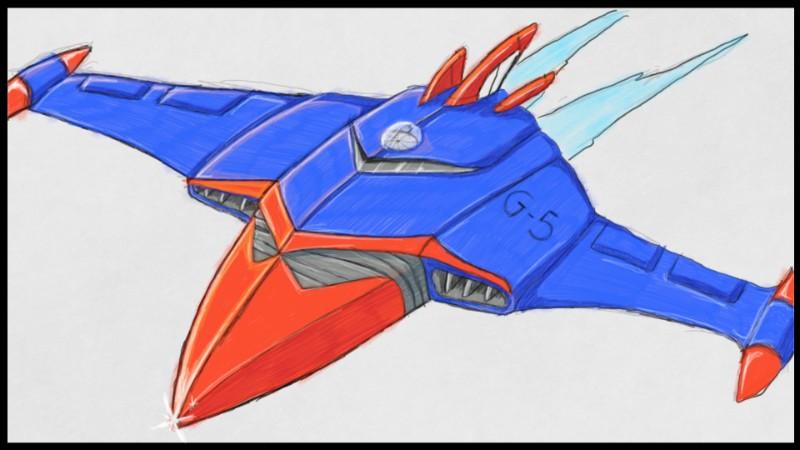Godspeed Phoenix  Art Acadomty SketchPad by blackzero04