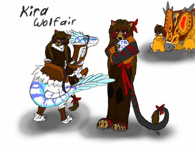 Kira Wolfair by blackzero04
