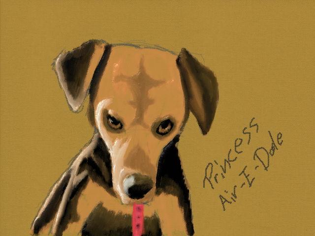 Princess Air-E-Dale by blackzero04