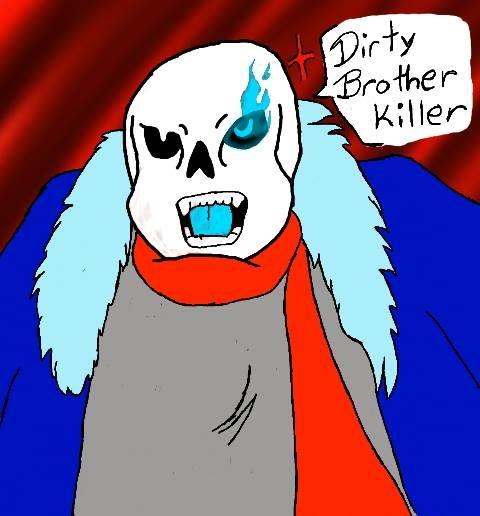 Dirty Brother killer by blackzero04